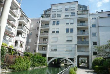 Augsburg: Dach-Terrassen-Wohnung in sehr ruhiger zentraler Lage