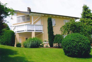 Wörthsee: Mediterrane Villa mit Galerie und Seeblick