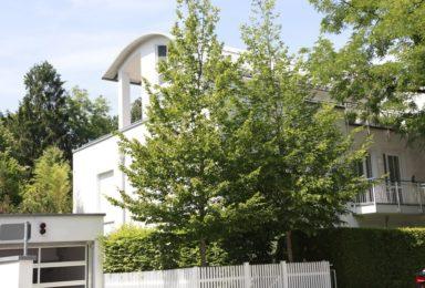 München Harlaching: Architekten-Wohnung mit Traum Garten