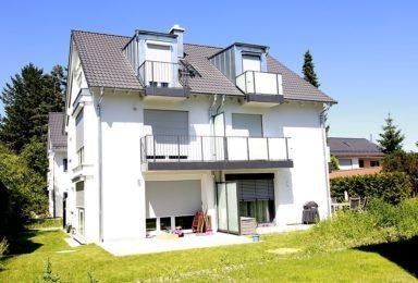Neuried: Vier Moderne Neubau Doppelhaushälften mit Südgärten