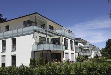 Bad Wörishofen: Wohnen auf einer Ebene mit Lift und Garage